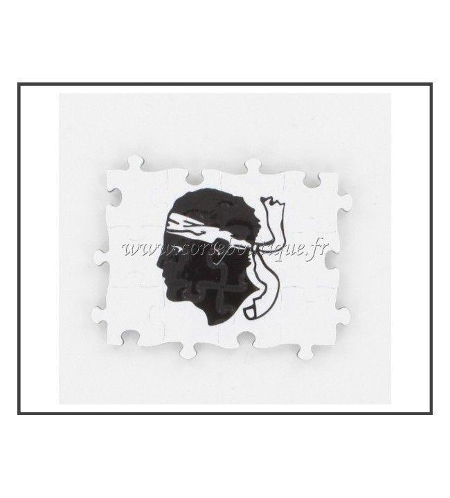 Magnet Puzzle Rectangle Tête de Maure