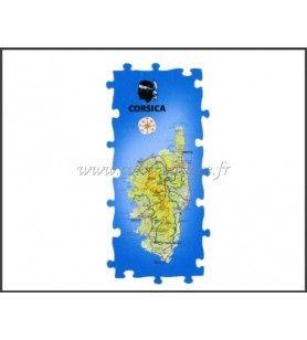 Magneet Puzzel Panoramische van Corsica