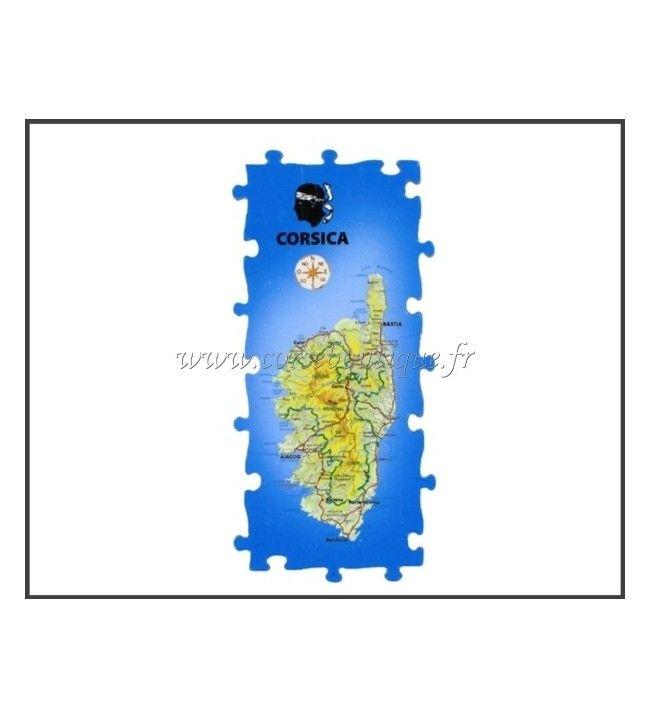 Magnet Puzzle Panoramique de la Corse