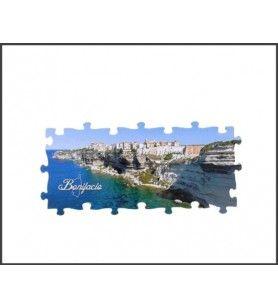 Bonifacio Panoramische Puzzelmagneet
