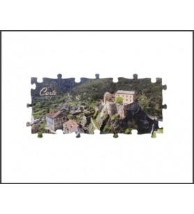 Magnet-Puzzle Panorama Corte