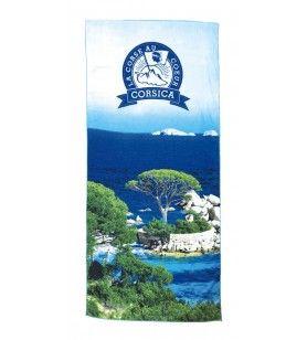 Palombaggia Microfiber Beach Towel