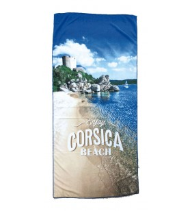 Towel Beach, Microfiber Genoese Tower