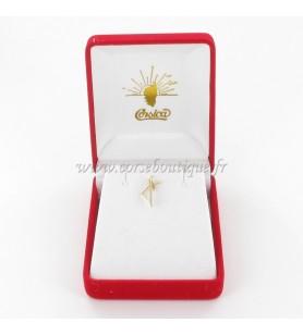 Hanger Kaart Van Corsica Gestileerde Gold-Plated