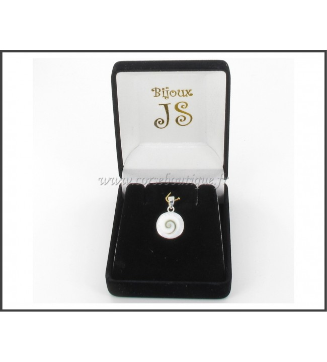 Pend. arg. OSL Ronda y la madre-de-perla 8430E + caja de regalo