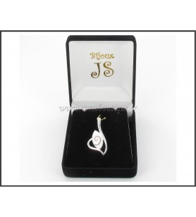 Ciondolo in argento Occhio deSainte Lucia 5432E + scatola regalo