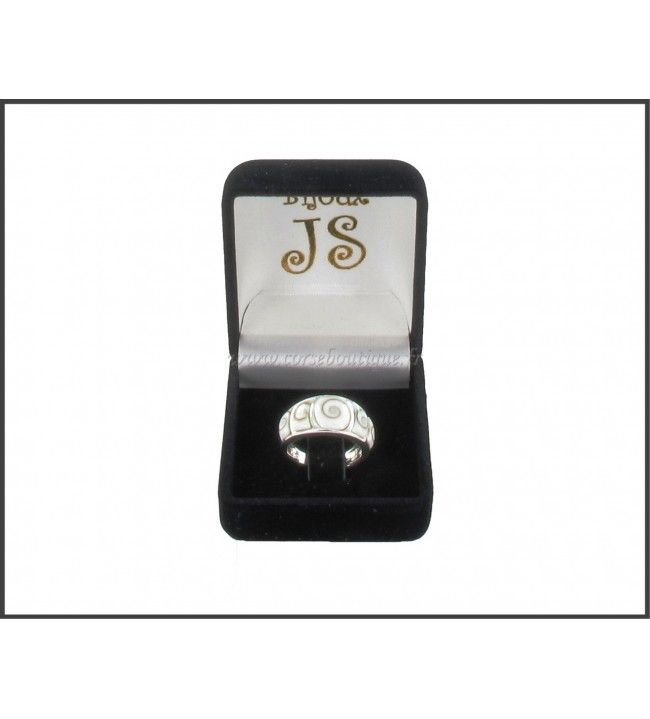 Ring Silber 5 Auge von Sainte Lucie + Ecrin