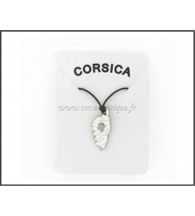 Pendant CORSICA zinc die-cast White