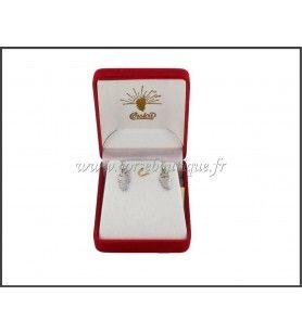 Orecchini a perno Corsica card Rhodium Silver 29