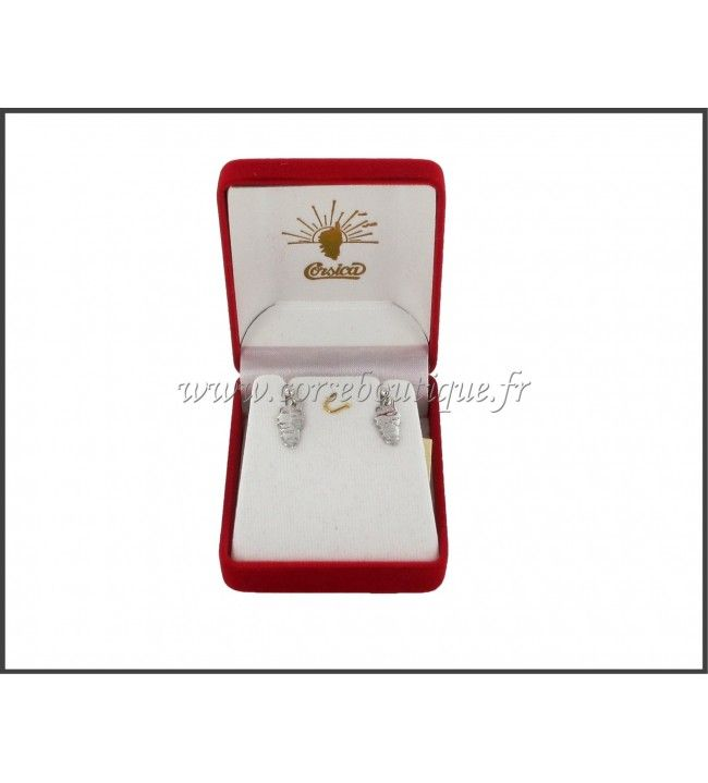 Earrings nails Corsica Arg. HR 2152AE + box