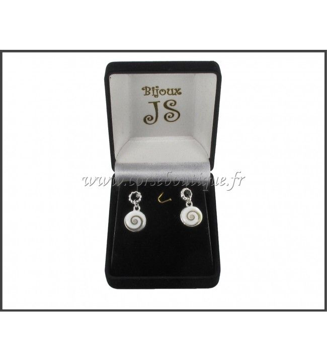 B. O Clavos de plata OSL 8230E + caja de regalo