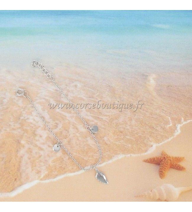 Armband Corsica en Rhodium Zilver bedels
