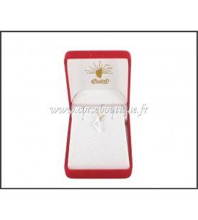 Hanger Kaart Van Corsica Gestileerde Zilveren Rhodium-Plated