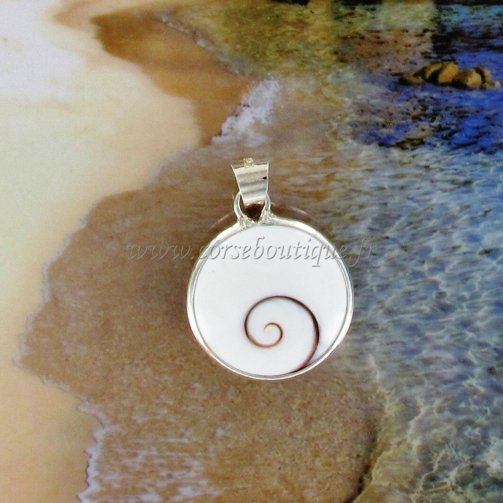 pendant silver eye of santa lucia round medium template at 11 00