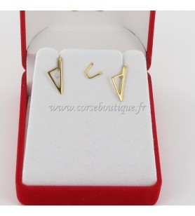 Earrings Card corsica Stylized Gold-Plated