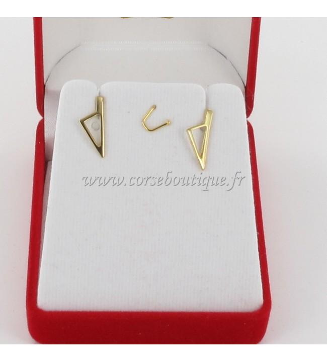 B. O C. corse Stylized Pl. Gold 2156PE + box