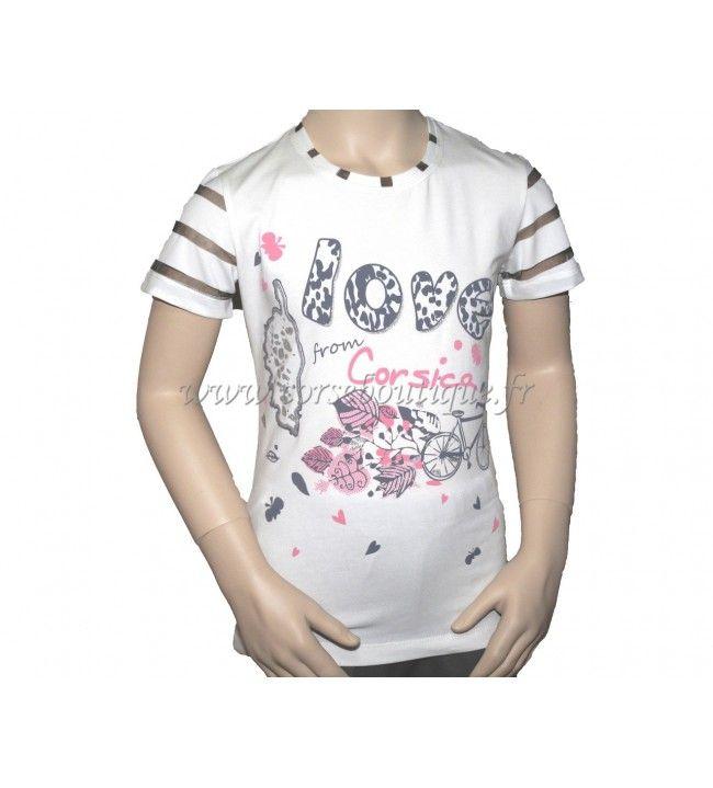 Camiseta Niño De La Bicicleta