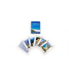 Spel kaarten van Corsica in 54 Foto ' s van Corsica