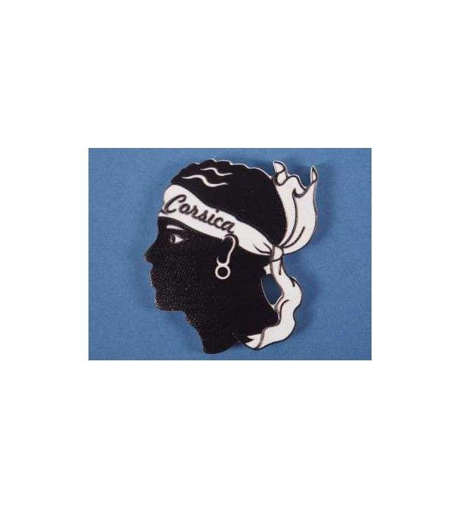 Moorish-Head Printed Magnet