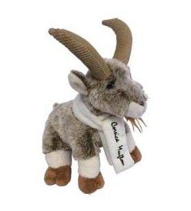 Plush Sheep scarf embroidered Corsica 25 Cm