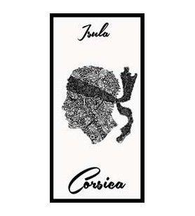 Handdoek isula corsica wit