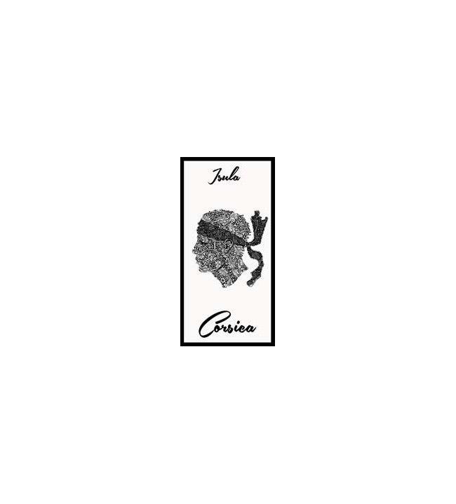 Serviette isula corsica blanche