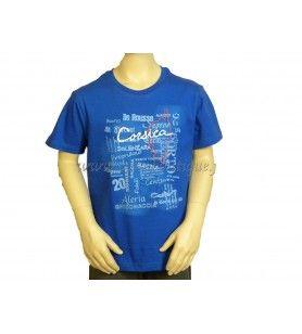 T-Shirt Sombra De Texto Niño Franky M - 1