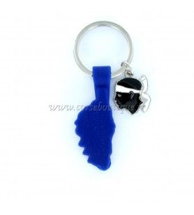 Silicone Key Chain 4.5