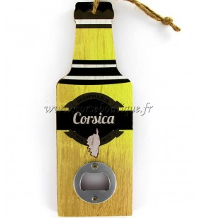 Bottle opener in wood Corsica