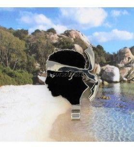 Imán del gancho de metal Cabeza de Moro