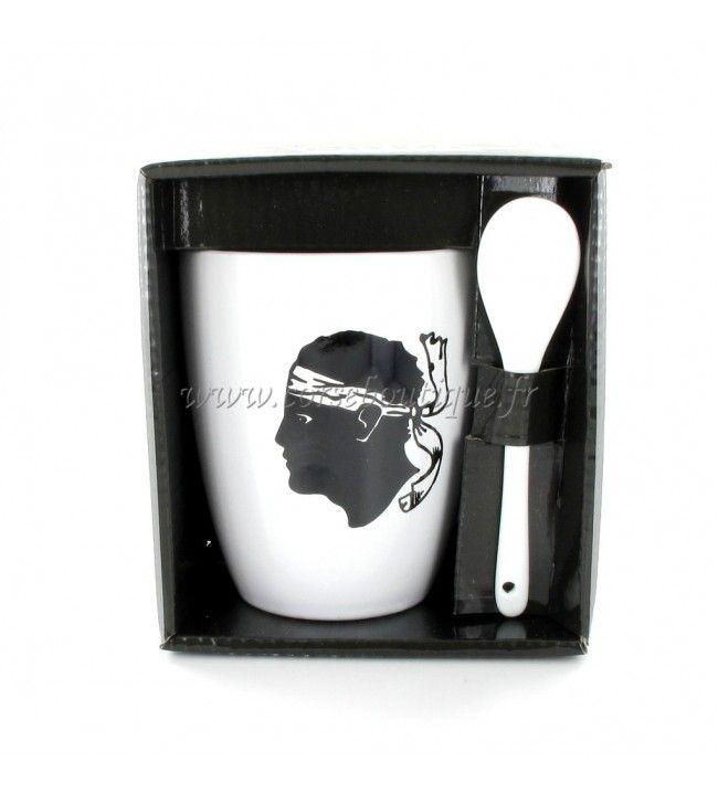 Mug with spoon ref 964
