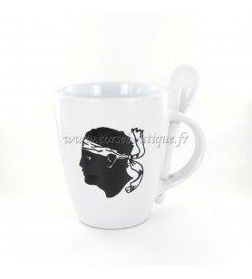 Mug avec cuillère ref 964