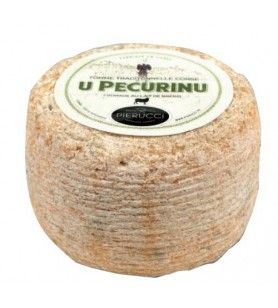 Corsican Tomme cheese with sheep's milk  - Corsican Tomme U Pecurinu Silver medal at the Concours Général Agricole in 2017