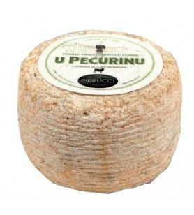 Korsischer Tomme-Käse mit Schafsmilch  - Korsische Tomme U Pecurinu Silbermedaille beim Concours Général Agricole 2017