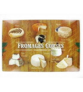 Cutting board Corsican Cheeses