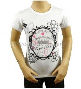 T-Shirt kind Spiegel  - 1
