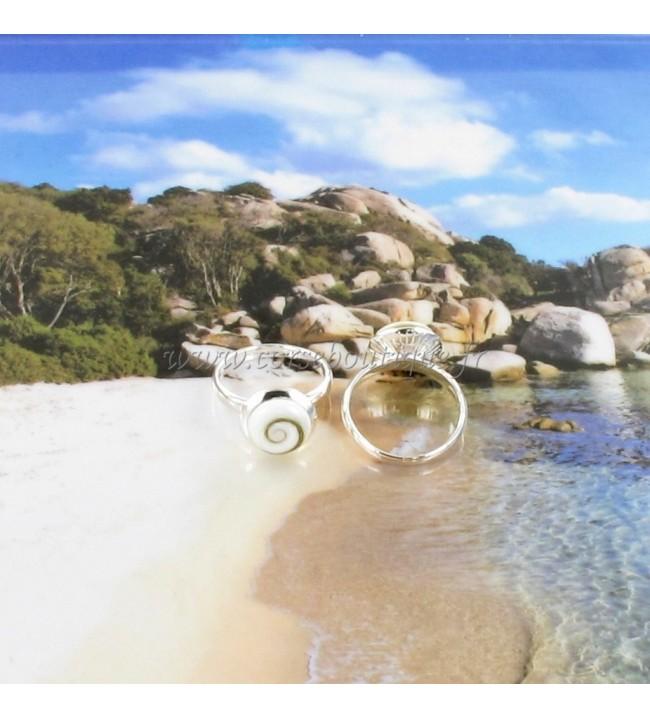 Ring Auge von Sainte Lucie Geld 8147E