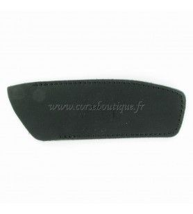 Sheath black leather knife 12-13 cm