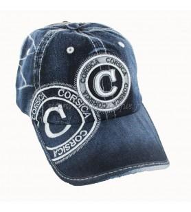 Mütze Jeans dunkel