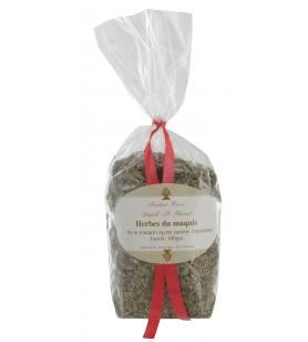 Herbes du Maquis Sachet 100g ANGELI  - Herbes du Maquis Sachet 100g ANGELI