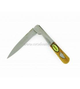 Couteau vendetta bois d'olivier 21 cm