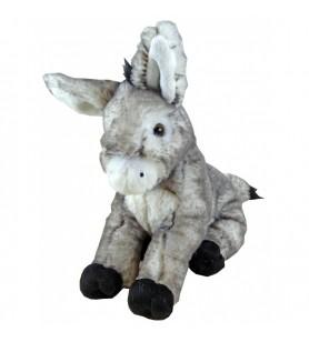 Plush donkey grocalin 18 cm Corsica