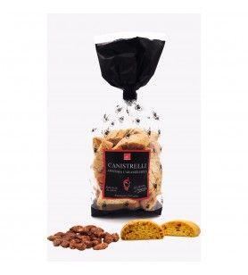 Canistrelli Kleine Corsicaanse gekarameliseerde amandelen 250 gr
