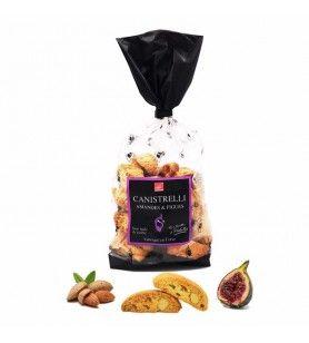 Canistrelli Small Corsican Almonds, Figs, 250 gr