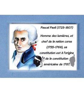 Imán De Metal Pascal Paoli  - Imán De Metal Pascal Paoli