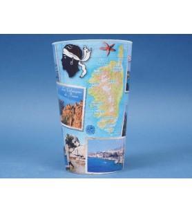 Vaso de plástico Fotos Córcega
