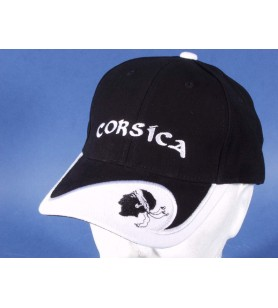 Cappello nero, bianco, Testa di Moro Corsica