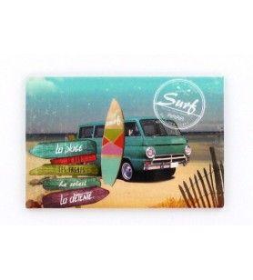 Imán De Impresión De Surf  - Imán De Impresión De Surf
