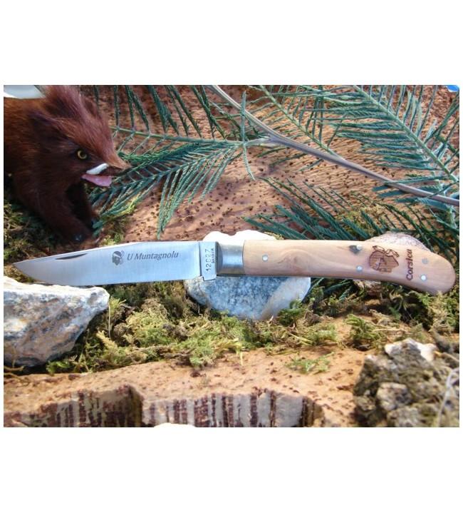 Couteau corse U Montagnolu 21 cm 1 Mitre Olivier