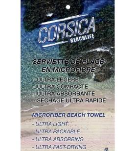 Serviette de Plage Microfibre 175X85 cm 01529